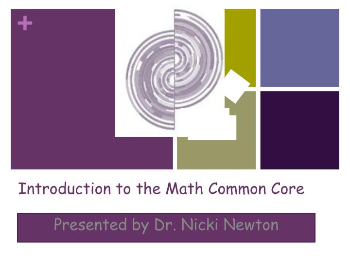 introduction to the math common core n.