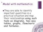 model with mathematics2