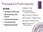 processes proficiencies1