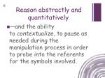 reason abstractly and quantitatively2