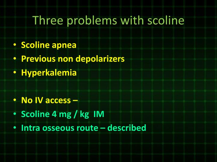 Three problems with