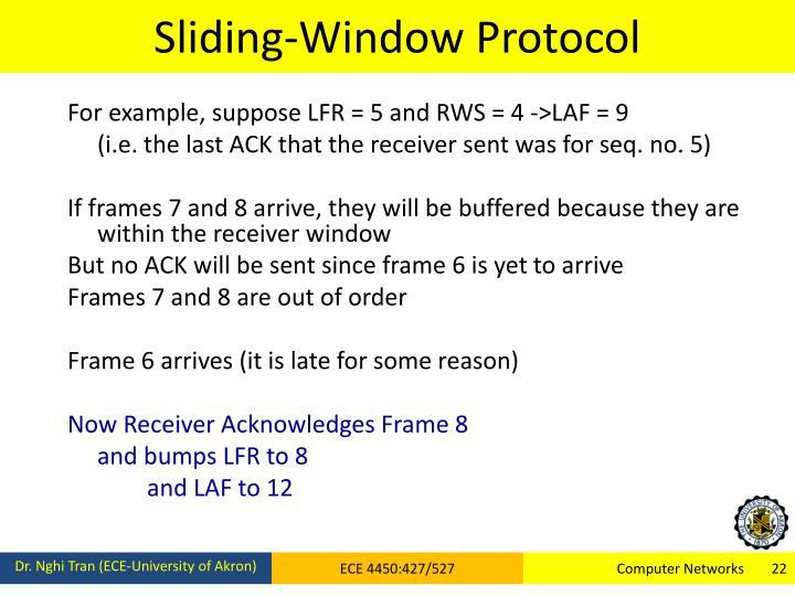 Sliding-Window Protocol