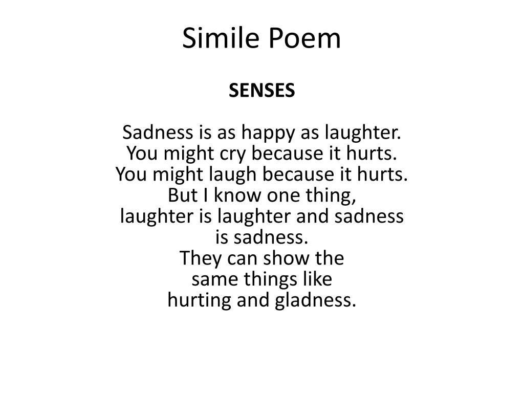 ppt simile poem powerpoint presentation id 2142988