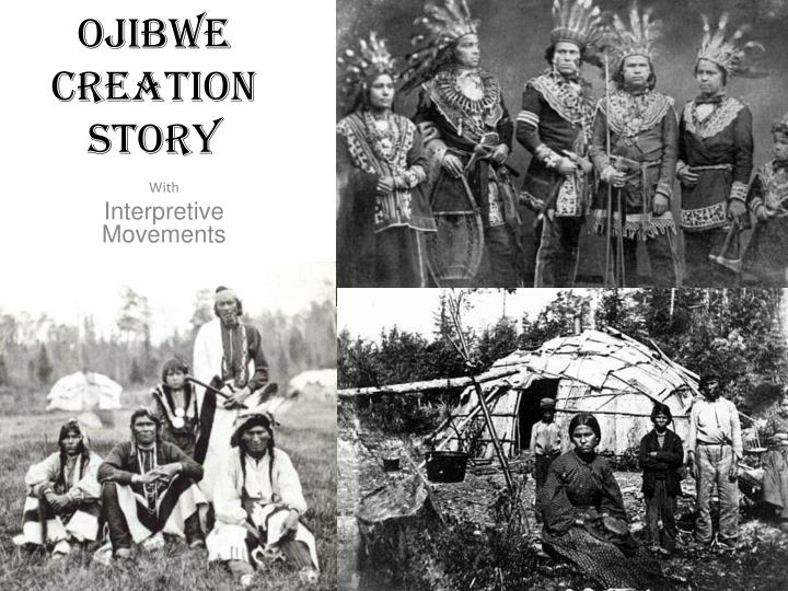 ojibwe creation story n.