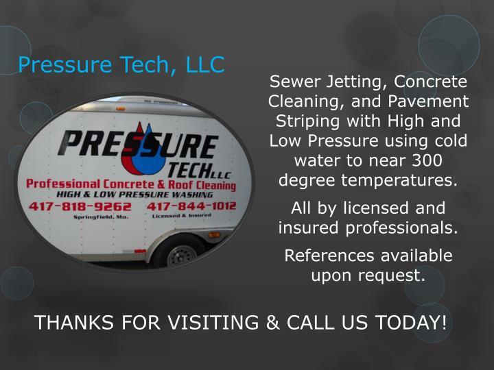Pressure Tech, LLC