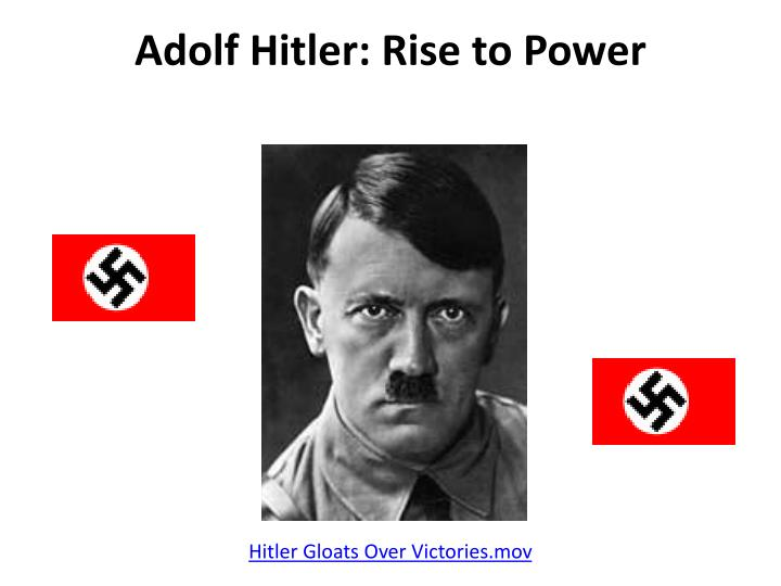 adolf hitler rise to power history essay Adolf hitlers father, alois hitler, was a well known artist, and therefor hitler wanted to follow his fathers footsteps in court he held speeches about nationalism, and because of his immense power of speech, convinced the court that he should not be sentenced to death.