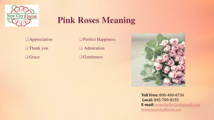 Pink Roses Meaning