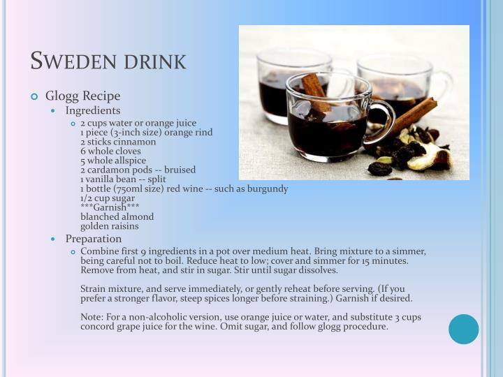 Sweden drink