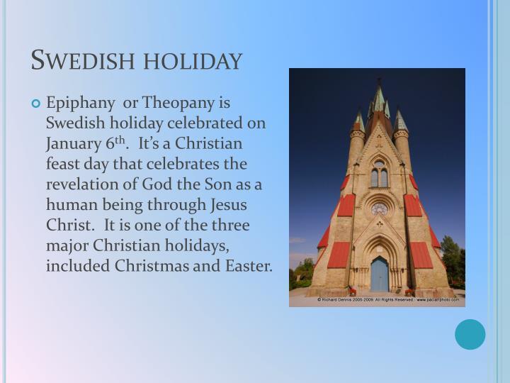 Swedish holiday