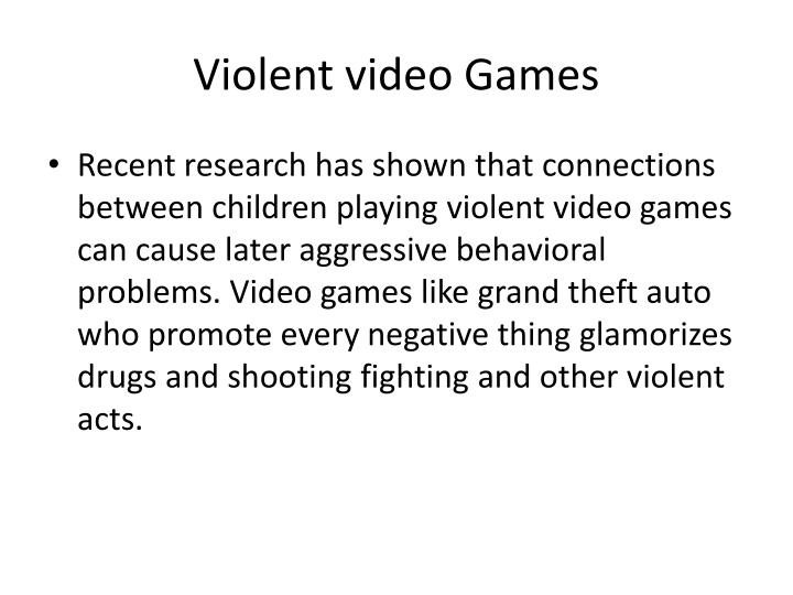 do video games cause behavior problem Video gaming is one of the knowledge that have become a concern in the modern society according to a research done by a psychologist craig anderson it is clear that the violent video games cause behavior problems such as aggressive behavior as a result of affecting the attention span of children.