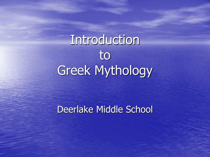 Ppt Introduction To Greek Mythology Powerpoint Presentation Free Download Id 2144446