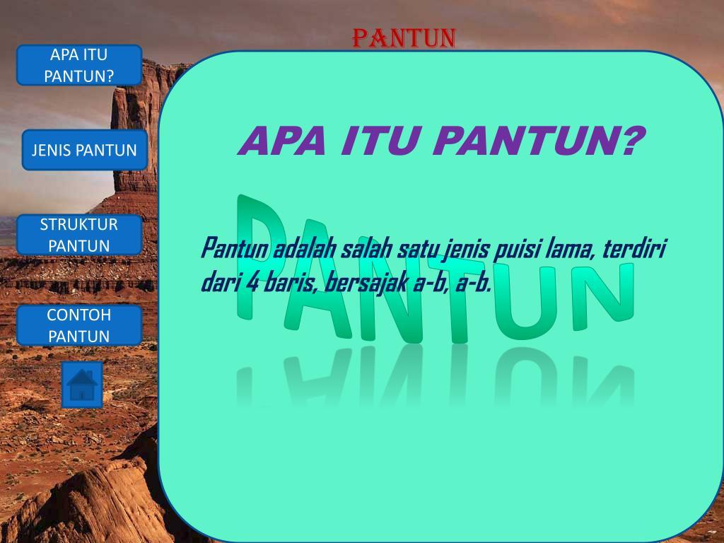 Ppt Apa Itu Pantun Powerpoint Presentation Id 2144462