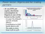 power sector nigeria and her trading partners