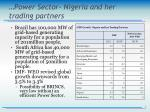 power sector nigeria and her trading partners1