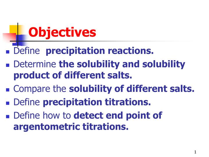 objectives n.