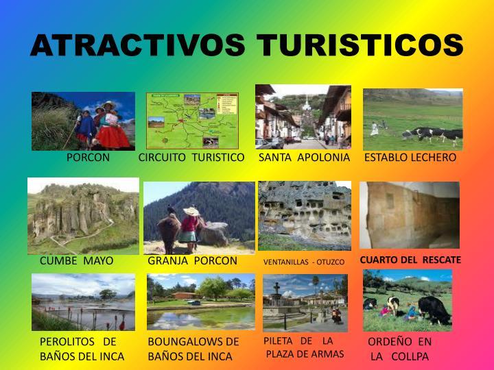 Atractivos turisticos