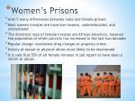 women s prisons