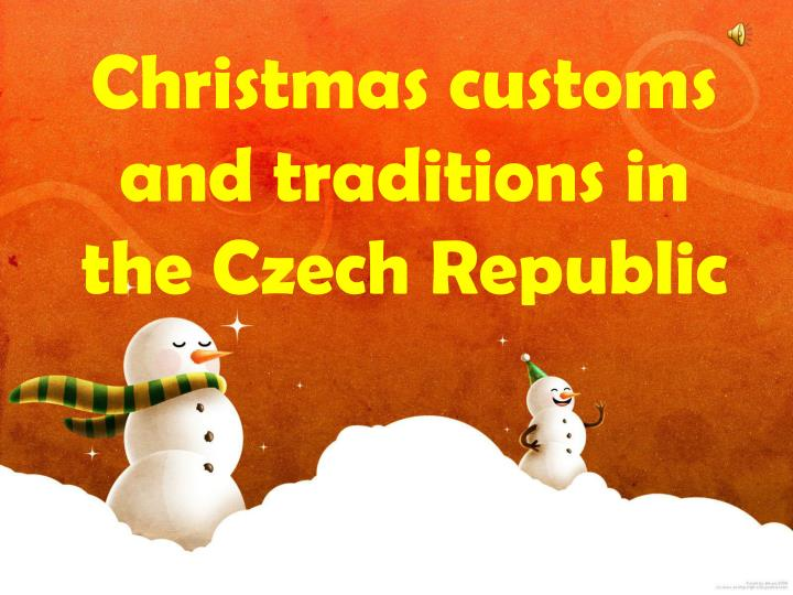 christmas customs and traditions in the czech republic n.