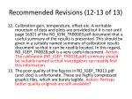 recommended revisions 12 13 of 13