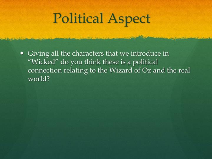Political Aspect