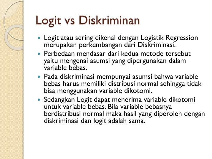 Logit
