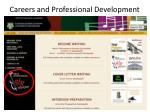 careers and professional development