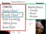 eastman philharmonia performance