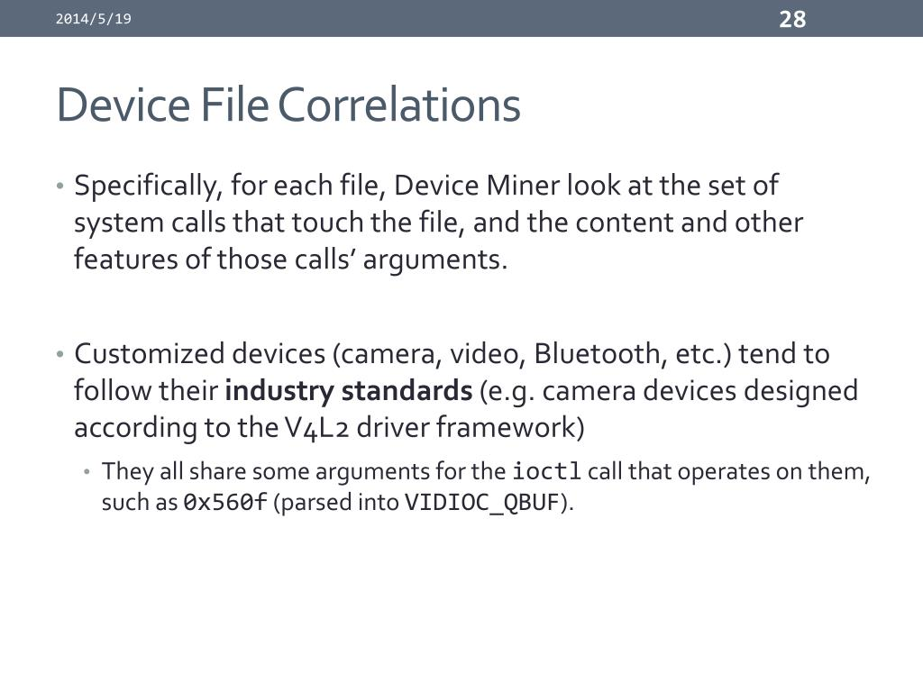 PPT - The Peril of Fragmentation: Security Hazards in Android Device