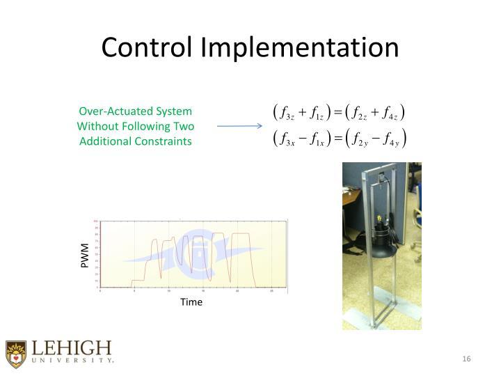 Control Implementation