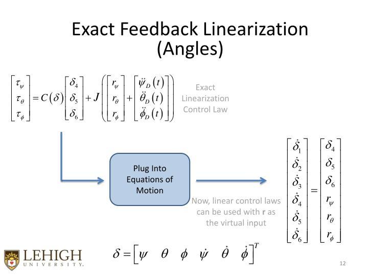 Exact Feedback Linearization