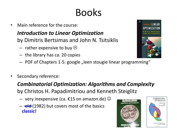bertsimas linear optimization solutions pdf