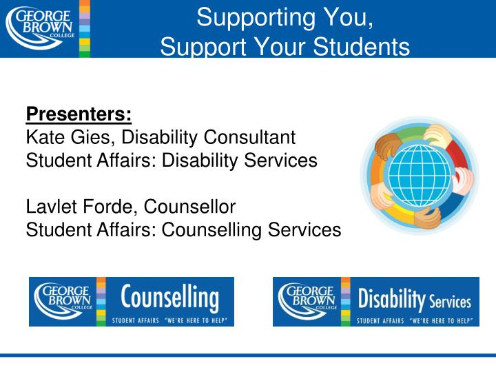 supporting you support your students n.