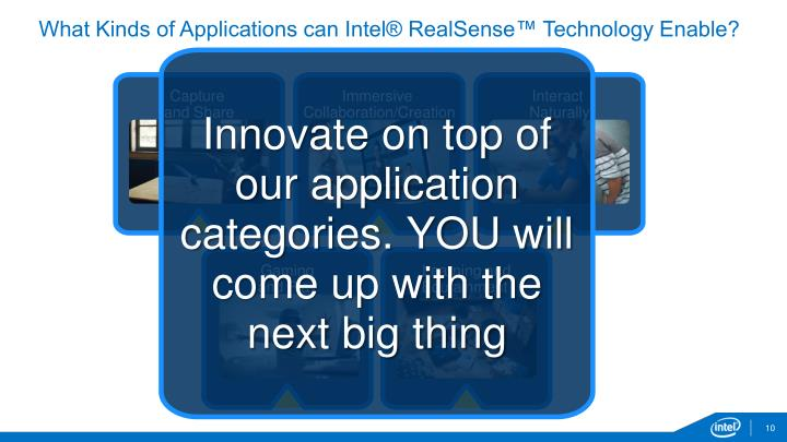 What Kinds of Applications can Intel® RealSense™ Technology Enable?