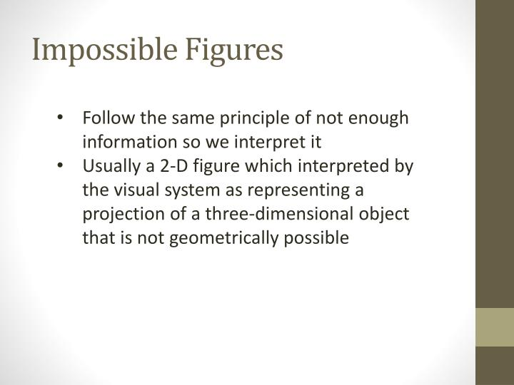 Impossible Figures