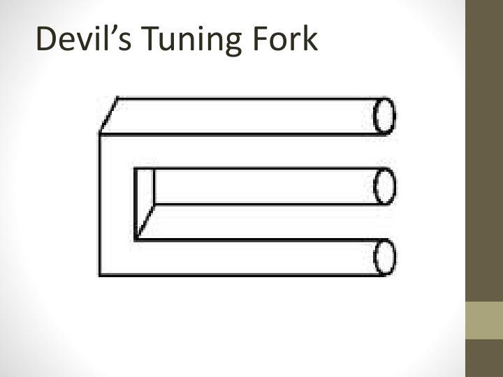 Devil's Tuning Fork