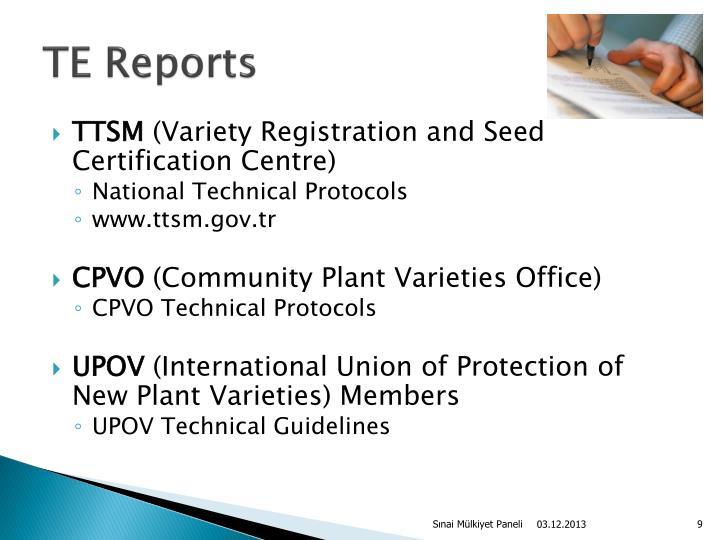 TE Reports