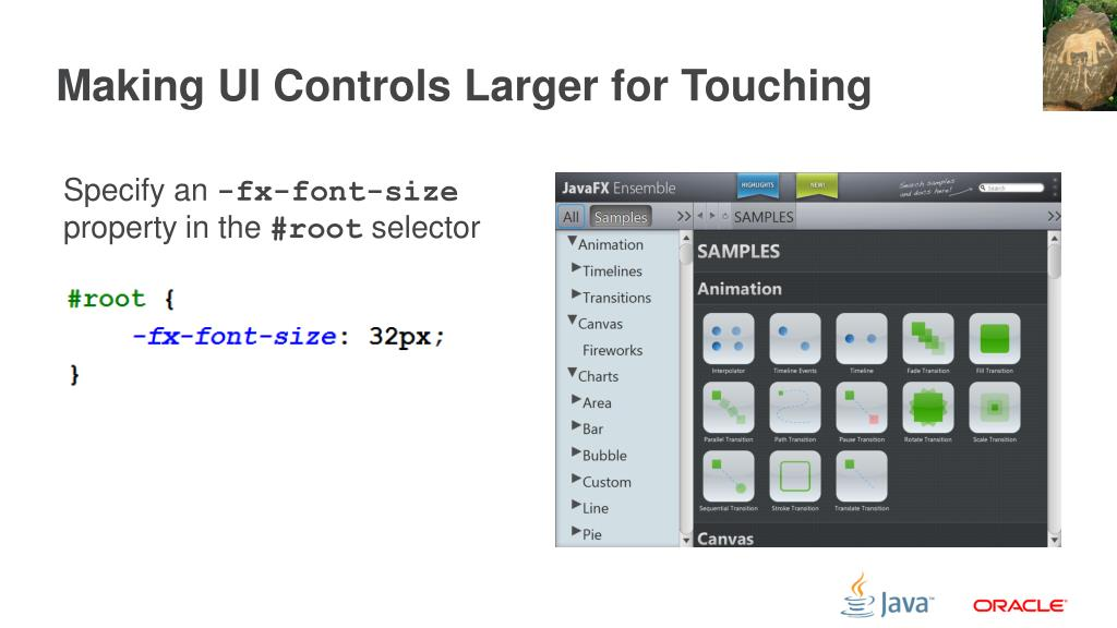 PPT - Scratching the Surface with JavaFX PowerPoint
