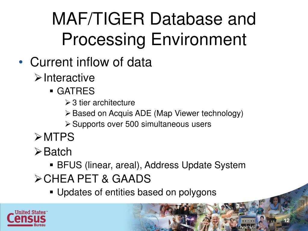 PPT - MAF/TIGER Database and Processing Environment
