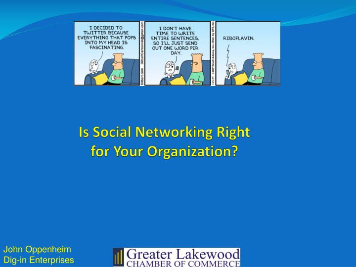 is social networking right for your organization n.