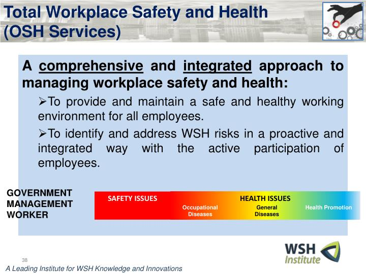 Total Workplace Safety and Health