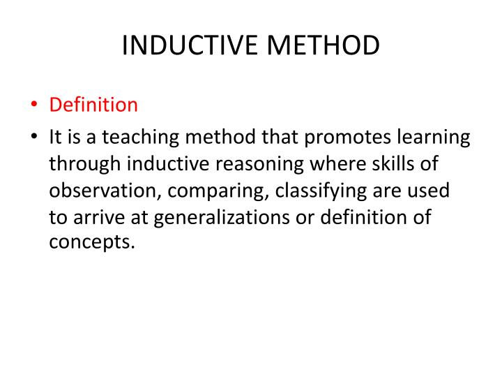 strengths and weaknesses of deductive inductive It includes practice in inductive and deductive reasoning,  my personal strengths and weaknesses i believe that life is a learning experience and being able to.