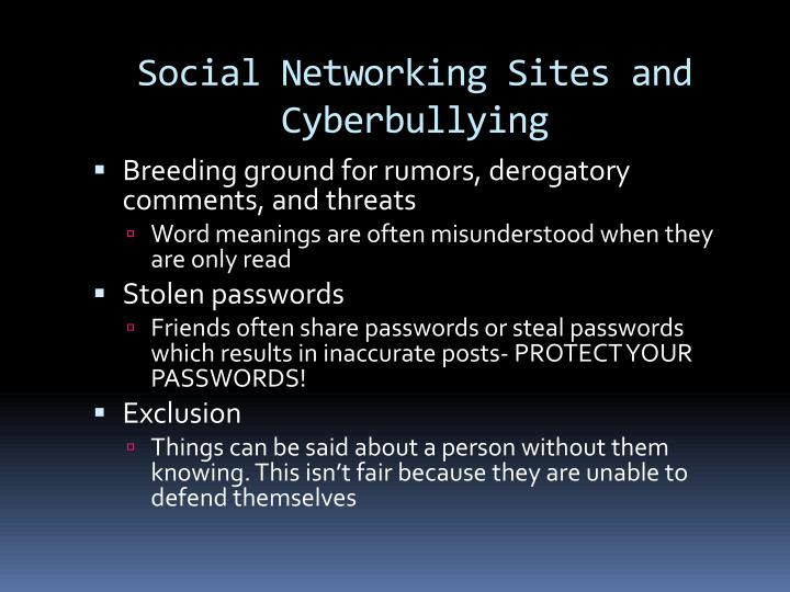 Social Networking Sites and