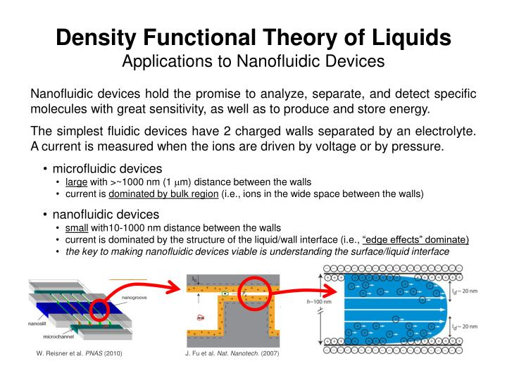 PPT - Density Functional Theory of Liquids Applications to
