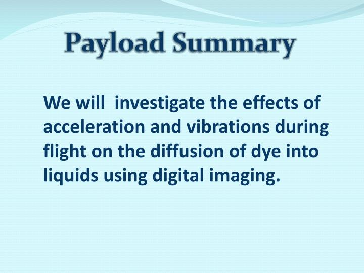 Payload Summary