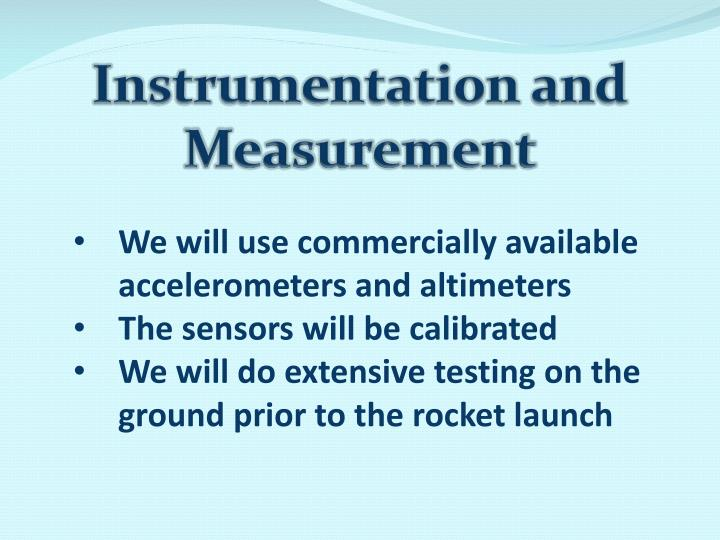 Instrumentation and Measurement