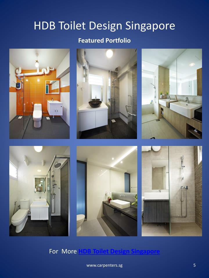 HDB Toilet Design Singapore