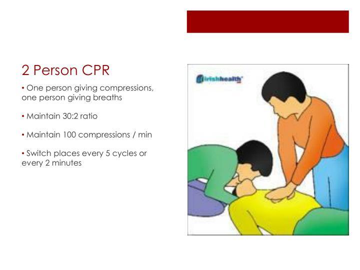2 Person CPR