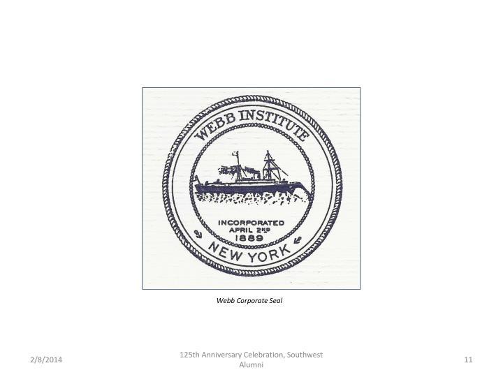 Webb Corporate Seal
