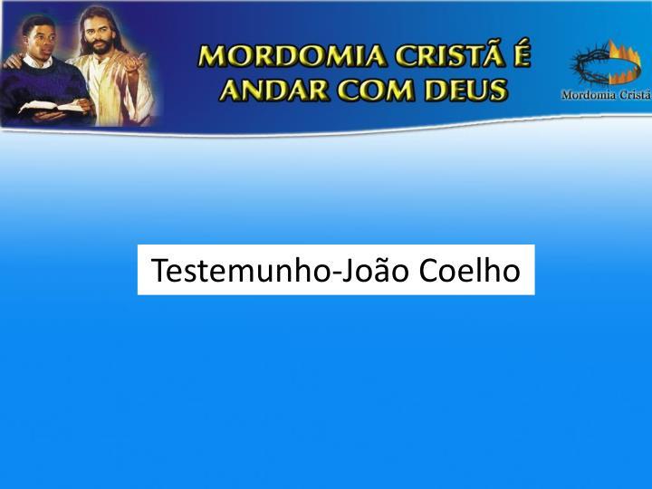 Testemunho-João