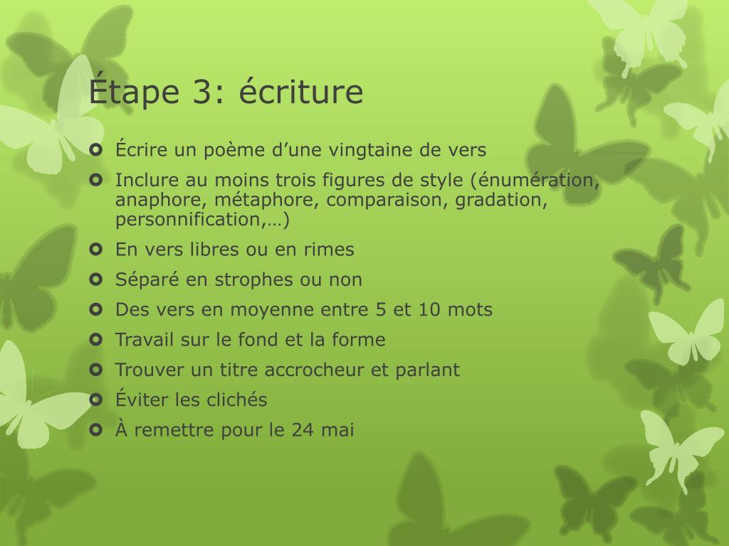 Ppt La Poésie Powerpoint Presentation Id2148684